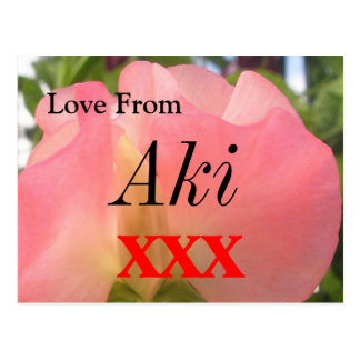Aki Postcard