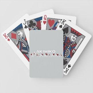 Akihiko - I've been waiting for this! Bicycle Playing Cards