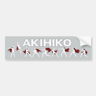 Akihiko - I've been waiting for this! Bumper Sticker