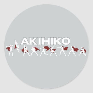 Akihiko - I've been waiting for this! Classic Round Sticker