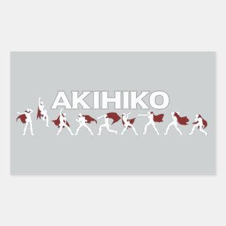 Akihiko - I've been waiting for this! Rectangular Sticker