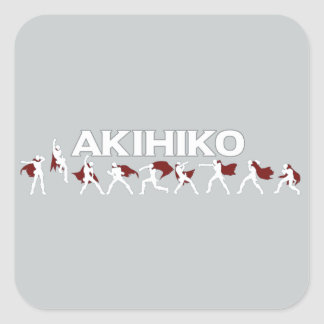 Akihiko - I've been waiting for this! Square Sticker