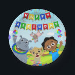 """Akili and Me Paper Plate<br><div class=""""desc"""">Celebrate your child's special day with paper plates featuring Akili and friends!</div>"""