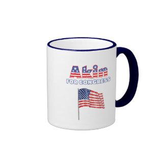 Akin for Congress Patriotic American Flag Mug