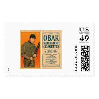 Akin Seattle Baseball 1910 Postage Stamp