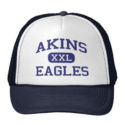 Akins - Eagles - Akins High School - Austin Texas Trucker Hat