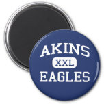Akins - Eagles - Akins High School - Austin Texas Fridge Magnet