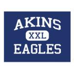 Akins - Eagles - Akins High School - Austin Texas Post Cards