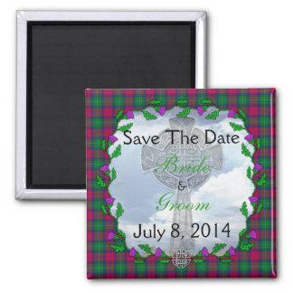 Akins Scottish Wedding Save The Date Magnet