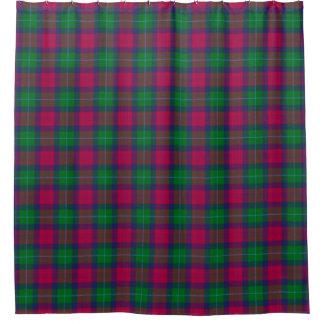 Akins Tartan Shower Curtain