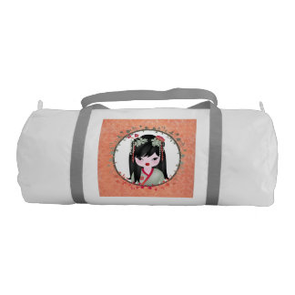 Akira Asian girl Gym Bag