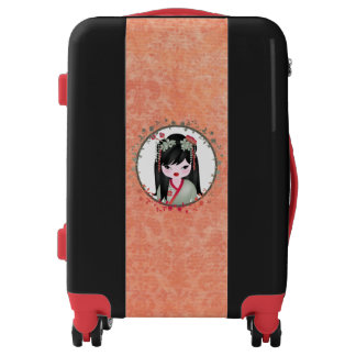Akira Asian girl Luggage