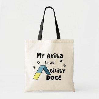 Akita Agility Dog Tote Bag