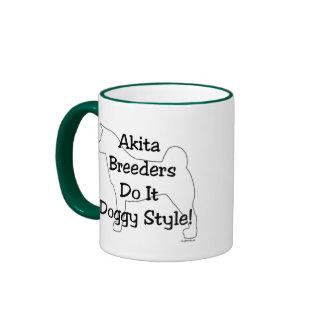 Akita Breeders Coffee Mugs