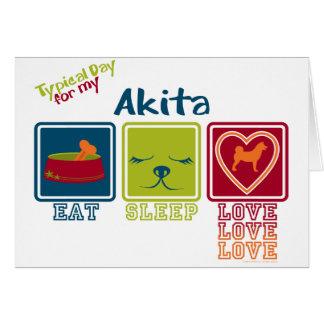 Akita Card