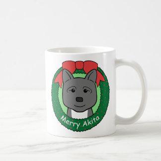 Akita Christmas Coffee Mug