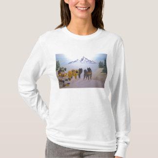 Akita Christmas Time. T-Shirt