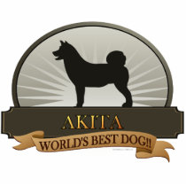 Akita Cutout