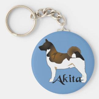 Akita, Detailed Keychain