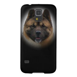 Case-Mate Barely There Samsung Galaxy S5 Case with Akita Phone Cases design