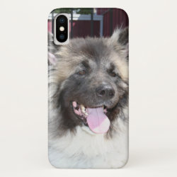 Case-Mate Barely There Apple iPhone XS Case with Akita Phone Cases design