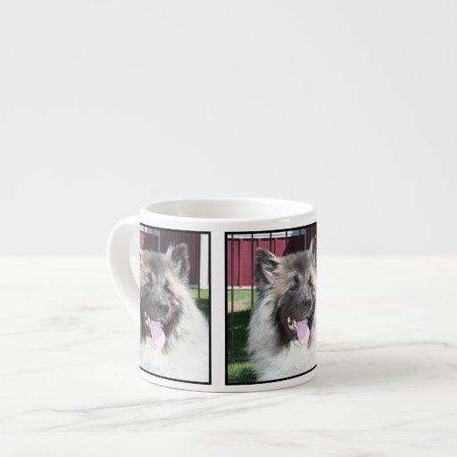 Akita dog espresso mug