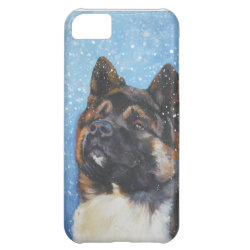 Case-Mate Barely There iPhone 5C Case with Akita Phone Cases design