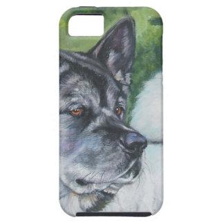 Akita dog portrait iphone Case
