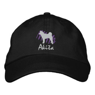 Akita garabateado gorra de béisbol