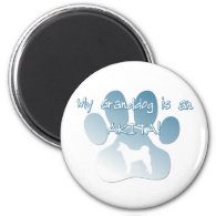 Akita Granddog Magnets