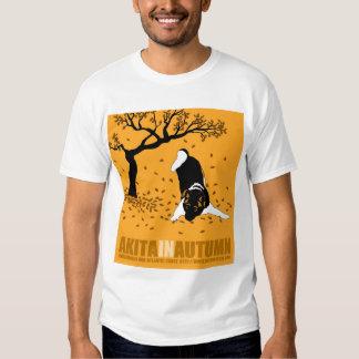 Akita in Autumn T-Shirt
