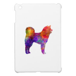 Akita Inu 01 in watercolor 2 iPad Mini Cases