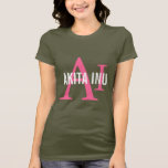 Akita Inu Breed Monogram T-Shirt