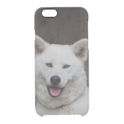 Uncommon iPhone 6 Clearly™ Deflector Case with Akita Phone Cases design