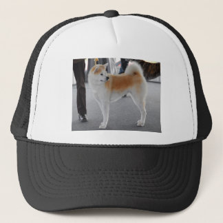 Akita Inu Dog In A Dog Show Trucker Hat