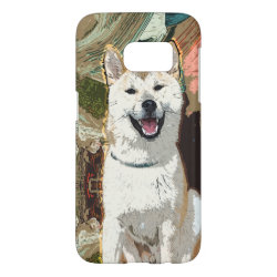 Case-Mate Barely There Samsung Galaxy S7 Case with Akita Phone Cases design