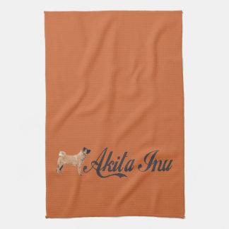 Akita Inu Kitchen Towels
