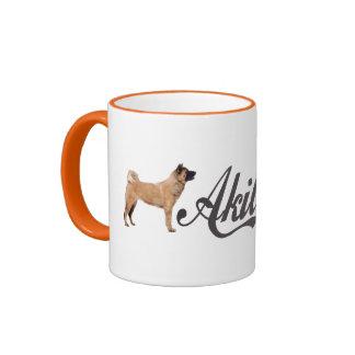 Akita Inu Coffee Mugs