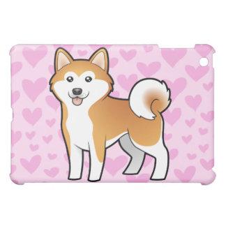Akita Inu / Shiba Inu Love (add a pern) iPad Mini Cover