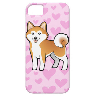 Akita Inu / Shiba Inu Love iPhone SE/5/5s Case