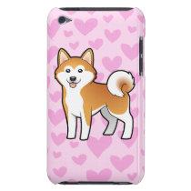 Akita Inu / Shiba Inu Love iPod Touch Case