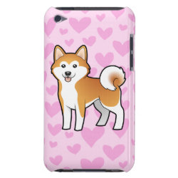 Case-Mate iPod Touch Barely There Case with Akita Phone Cases design