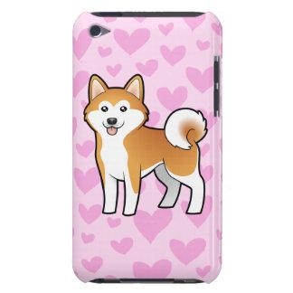 Akita Inu / Shiba Inu Love iPod Touch Case-Mate Case