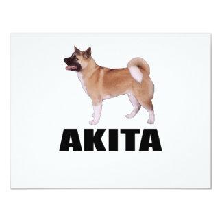 Akita Invitación 10,8 X 13,9 Cm