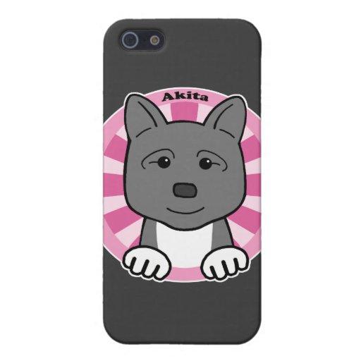 Akita iPhone 5 Cárcasas