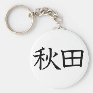Akita Key Chain