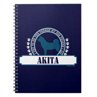 Akita Libro De Apuntes Con Espiral