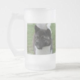 Akita lindo taza cristal mate