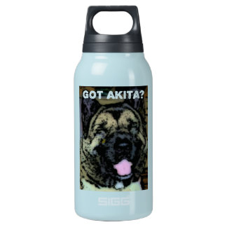 Akita Love Insulated Water Bottle