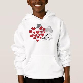 Akita Love Kid's Tshirts and Hoodies